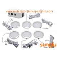 Wholesale Safe Easy Under Cabinet Lighting , 12V LED Cabinet Lamp With Male Plug Connector from china suppliers