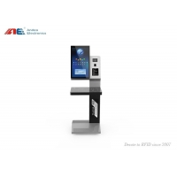 Buy cheap RFID Library Automation Management Books Check In / Out Self Service Kiosk from wholesalers