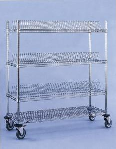"""Wholesale Chrome Mesh 4"""" Wheel Anti Static ESD Trolley Cart from china suppliers"""