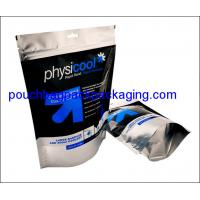 Wholesale Aluminium stand up pouch, doypack zipper pack bag for liquid 500 ml from china suppliers