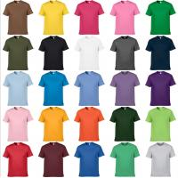 Customize t shirt oem any color tee shirts cheap price for Mens colored t shirts