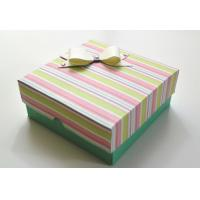 China Customized Luxury Paper Gift Box , Recycled Paper Drawer Box on sale