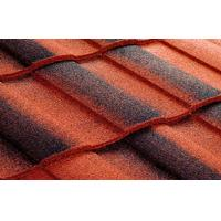 Galvalume Double Roman Roof Tiles Light Weight Metal Roofing Tile