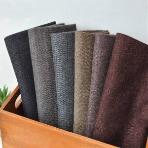 Wholesale Best Selling Thin Woolen 50% Wool 25% Viscose 25% Nylon Herringbone Fabric from china suppliers
