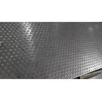 Wholesale 5 Bar Thread Checkered Aluminum Sheet For Building , Curtain Wall from china suppliers
