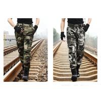 Wholesale Military Camouflage Pants For Field Training , Camo Cargo Pants For Men from china suppliers