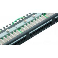 Wholesale Cat6 STP RJ45 Network Patch Panel Tray Type Patch Panel UL Certification Performance from china suppliers