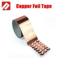 Buy cheap conductive copper foil adhesive tape for EMI shielding, free sample to test from wholesalers