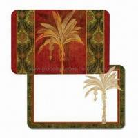 Wholesale Plastic Placemats and Coasters for Kitchen, Non-toxic, Made of PP, Customized Designs are Accepted from china suppliers