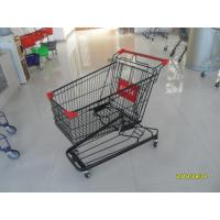 Wholesale 941 X 562 X 1001mm Supermarket Shopping Trolley With 4 Swivel Flat Casters from china suppliers
