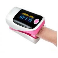 China Digital color display finger pulse oximeter YK - 80 for SPO2 and pulse check on sale