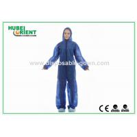 Soft Durable Safety Disposable Coveralls Clothing For Industrial