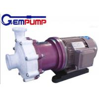 ZMD Fluorine plastic self-priming magnetic pump red cast Iron / Industrial Centrifugal Pumps