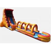 Wholesale Obstacle  Jumpy Large Inflatable Water Slide Quick Set Up Conveninet Installation from china suppliers