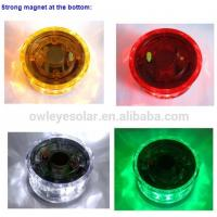 Wholesale Solar powered led warning lights with magnet/portable solar led light with magnet /mini blinking led light from china suppliers