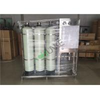 SS Reverse Osmosis Water Purification Equipment With Active Carbon And Quartz Sand