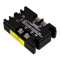Wholesale Zero Crossing  Ssr25a 3 Phase SSR Relay 24vdc from china suppliers