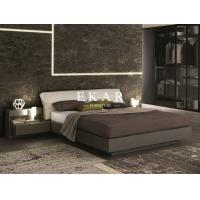 China Bedroom Furniture Simple Double Wooden Bed Designs ZZ-BD014 on sale