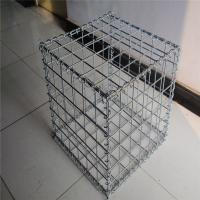 Wholesale rock filled gabion box/ stone gabion basket from china suppliers