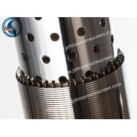 Wholesale Sand Control Pipe Base Screen Wire Wrapped Pipe Salt Resistance Johnson Type from china suppliers