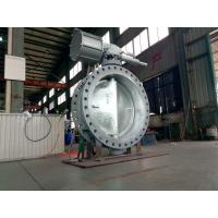Wholesale WCB Double Eccentric Butterfly Valve Actuator DN1200 High Performance from china suppliers