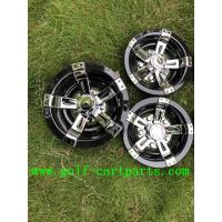 "Wholesale Chrome 8"" Golf Cart Wheel Covers / Plastic Material Golf Cart Hub Caps from china suppliers"