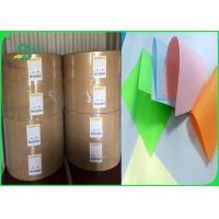Width 61 × 86cm Feel Good Bright Colors 80gsm 90gsm Colored Offfset Paper In Roll