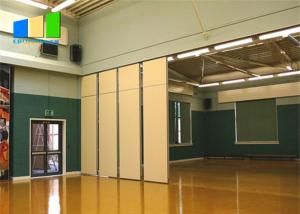 Wholesale Ballroom Sound Proof Folding Partitions Movable Wooden Partition Wall For Auditoriums from china suppliers