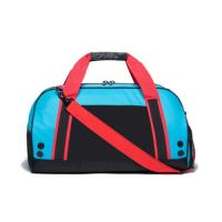 Wholesale Nylon Lining Gym Bag Magnetic Leather Handle Contain Drawstring Laundry Bag from china suppliers