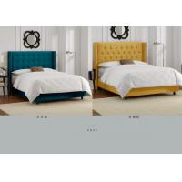 Modern fabric bed furniture 104931363 for Lit king size taille