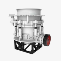 Wholesale AC Motor Cone Crusher Machine , Tracked Mobile Compound Cone Crusher from china suppliers