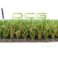 Wholesale Cement Base Realistic Looking Artificial Grass Rug SGS Certificate With 4 Colors from china suppliers
