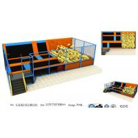 Wholesale 83M2 Chinese Amusement Trampoline/Kids and Adults Trampoline Bungee Park / Indoor Trampoline for Commercial from china suppliers