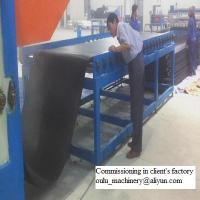 Elastomeric Closed Cell Rubber Insulation Sheet Production