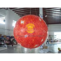 Wholesale 2.5m helium PVC Fireproof with B1 Certificate and Waterproof Sun Earth Balloons Globe with Total Digital Printing from china suppliers