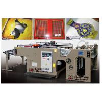 China wedding card screen printing machine linear touch high precision imported parts inverter control PLC on sale