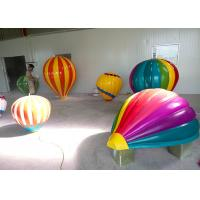 Wholesale Highly Durable Balloon Fiberglass Statue , Festival Balloon Props 30 50cm Dia from china suppliers