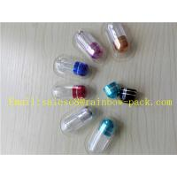 China Penis Enlargement Pills Pharmacy Vials Small Capsule Container on sale