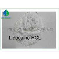 China 99% Purity Local Anesthetic Drug Lidocaine Hcl Lidocaine Hydrochloride Powder on sale