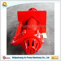 China High Cr Mo Ni alloy rubber liner Submersible sump pump vertical slurry pump on sale