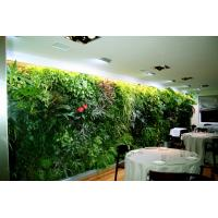 Synthetic vertical artificial plants wall green wall for Vertical garden panels