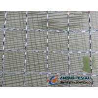 Wholesale 10mm, 12.7mm, 20mm Opening Crimped Wire Mesh for Producing Barbecue Grill from china suppliers