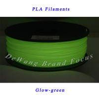 Quality Glow-green Dual Laser Diameter 1.75mm 3D Printer Filament For 3d Printer Pen for sale