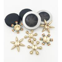 China Wholesale Cheap price copper brass material detachable hand fidget finger spinner QL1102 on sale