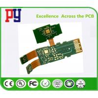 Wholesale Green Solder Mask Rigid Flex Circuit Boards , Pcb Printed Circuit Board Lead Free from china suppliers