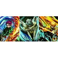 Wholesale Demon Slayer Flip Change Anime 3D Lenticular Poster from china suppliers