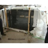 Wholesale Ultra Large Natural Black Granite Floor Tiles Customized Dimension from china suppliers
