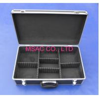 Wholesale Detachable Aluminium Storage Box , Hand Tool  Aluminum Hard Case With Foam from china suppliers