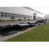 China Skid Steer Grapple Bucket 4 In1 Snow Bucket 0.45 - 0.6CBM Operating Capacity on sale