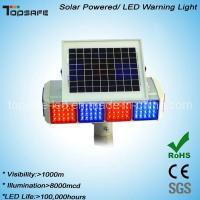 Wholesale Anti-High (low) Temperature Solar Powered Traffic Warning Light from china suppliers